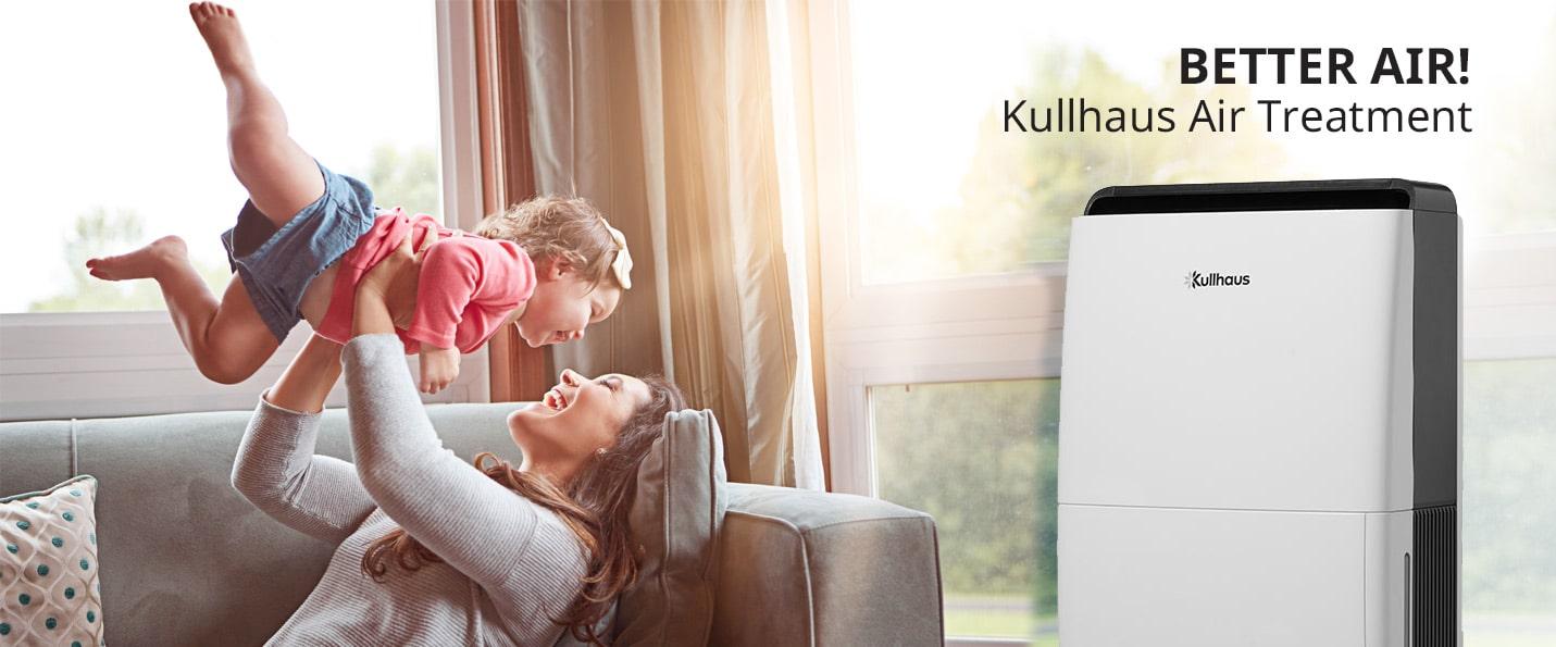 Air treatment appliances by Kullhaus BETTER AIR